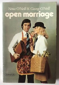 OPEN MARRIAGE Nena O'Neill And George O'Neill 1975 Vintage Vtg Book 70s