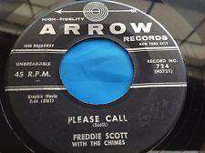 Hear Rare R&B Rocker 45 : Freddie Scott ~ The Letter Came This Morning ~ Arrow