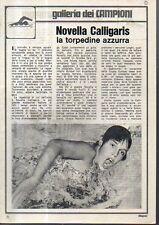 MA110-Clipping-Ritaglio 1970 Novella Calligaris