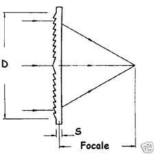 Lente di fresnel 210x298 mm focale 200 mm lens apetura f 0,8 - ID 3540