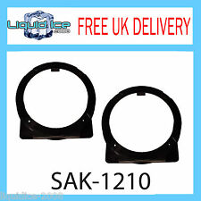 Sak-1210 HONDA CIVIC 2002 Onwards 130mm ALTOPARLANTE PORTA ANTERIORE Kit Di Montaggio Adattatore