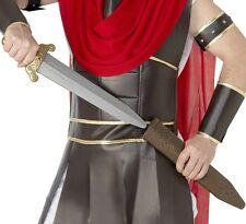 Roman Fancy Dress Sword & Scabbard Gladiator Boys Toy New by Smiffys