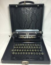 Antique 1934 Smith Corona Junior Original J Series 1J Typewriter Carrying Case