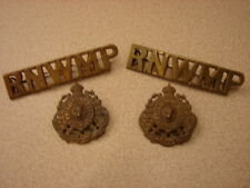 Original 1904 RNWMP Collar and Epaulet Insignia - RARE