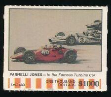1968 American Oil Sweepstakes (Auto Racing) -PARNELLI JONES (Indy 500)