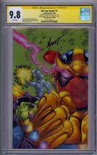 DO YOU POOH? #1 SS CGC 9.8 SILVER SURFER #44 EDITION SIGNED BY MYCHAELS 12/20