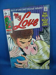 MY LOVE 3 F MARVEL 1969