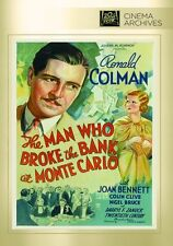 Man Who Broke the Bank at Monte Carlo - Region Free DVD - Sealed