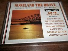 1992 DOUBLE CASSETTE -SCOTLAND THE BRAVE-VARIOUS ARTISTS- MATMC233-AS NEW