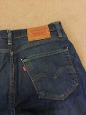 Levis 508 Jeans Slim 28 W 32 L Mid Blue
