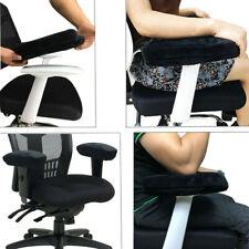 Memory Foam Armrest Cushion Pads Elbow Arm Rest Cover Chair Armrest Pads