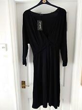BNWT SIZE 22 LADIES BLACK DRESS