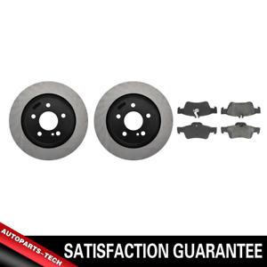Centric Rear Brake Rotors & Metallic Brake Pads 3PCS For Mercedes-Benz S430