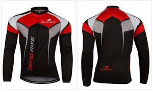 Men's MTB Clothing Cycling Jersey Bicycle Sportswear Long Sleeve Bike Top Shirt