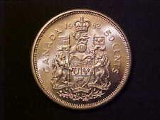 1962 CANADA 50 CENTS SILVER - SUPERB CH/GEM BU COLLECTOR COIN! -d695uxqc
