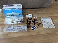 Vintage AMT '53 Corvette 1:25 Scale Model Kit