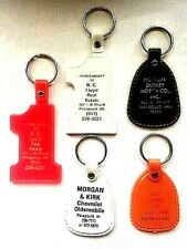 Paragould Arkansas Vintage Advertising Lot of 5 Key Chains Holders