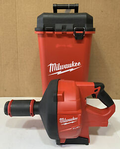 SLIGHTLY USED Milwaukee M18 Fuel  2772-20 DRAIN SNAKE WITH CASE (Tool Only)