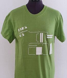 Bauhaus Shirt grün 100% Cotton  / Marcel Breuer B3 / S XL und 2XL