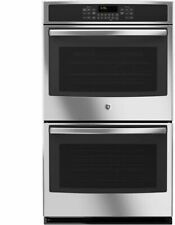 "Ge Profile 30"" Stainless Steel Electric Convection Double Wall Oven Jt5500Sfss"
