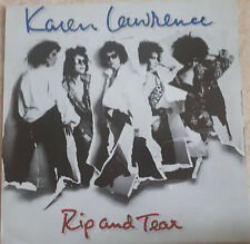 "33T Karen LAWRENCE Vinyle LP 12"" RIP AND TEAR - IS THIS LOVE - LINK COMPANY 3502"