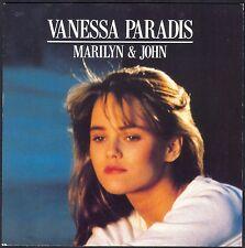 VANESSA PARADIS MARILYN & JOHN 45T SP 1988 POLYDOR 887.640 DISQUE NEUF / MINT