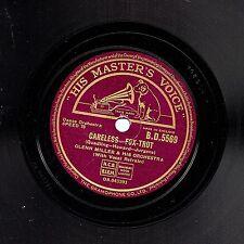 "CLASSIC 1940 GLENN MILLER 78 "" CARELESS / INDIAN SUMMER "" UK HMV  BD 5569 EX/EX-"