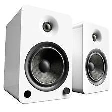 Kanto Yu6 Powered Desktop Speakers - Gloss White