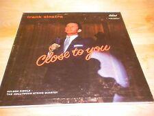 Frank Sinatra Close To You Capitol W 789 LP Vinyl 1957