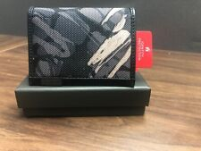 NIB TUMI Alpha Gusseted Card Case IDWallet With RFID Lock For Men Grey Highlands