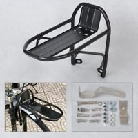 Aluminum Alloy MTB Road Cycling Bike Bicycle Front Rack Carrier Panniers Bag Lug