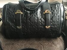COCCINELLE Soft Black Leather Ladies Handbag In Very Good Condition. RRP £330