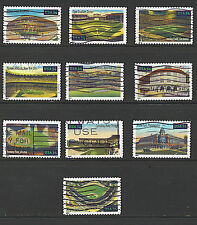 Scott #3510-19 Set of 10, Legendary Playing Fields