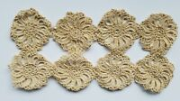Antique Lace Trim Insert Crochet Sewing Doll Prim Salvage A15