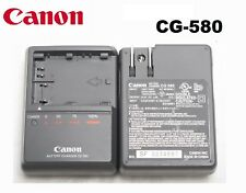 Genuine OEM Canon EOS 5D 50D 40D 30D 20D 10D 300D BP-522 Battery Charger CG-580