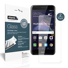2x Huawei P8 Lite2017 Pellicola Protettiva Protezione Vetro Flessibile 9H dipos