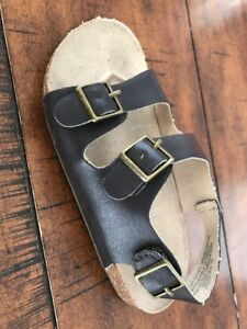 Amputee Left Only Old Navy Fashion Earth Cork Sandals Faux Leather Boys Size 10
