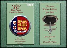 Parrilla Insignia De Coche Clásico Royale Moderna + Accesorios Inglaterra 3 Leones-B2.1032