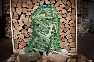 Brennholz Anmachholz Anzündholz Anfeuerholz 30 kg trocken 8% SOMMERANGEBOT !