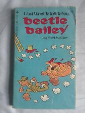5 moderately early Beetle Bailey paperbacks by Mort Walker (1977-79)
