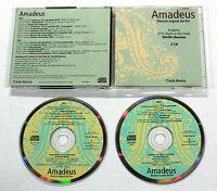 W.A. Mozart AMADEUS 1984 L'Unità 2 CD COLONNA SONORA FILM OST