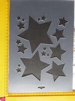 PVC/Embossing/Stencil/Multi//Star/PP//art/FLEXIBLE/A4/Bendy/FAULTY