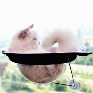 Cat Bed Space Capsule Window Mounted Cat Hammock Suction Pet Hanging Sunny Seat