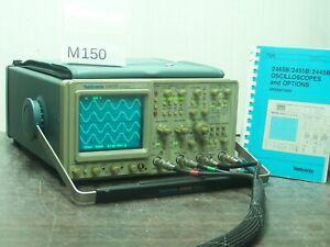 TEKTRONIX 2465B OSCILLOSCOPE 4x400MHz + Manual # M150