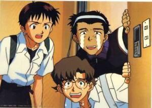 Anime Cel Evangelion Studio Repro #9