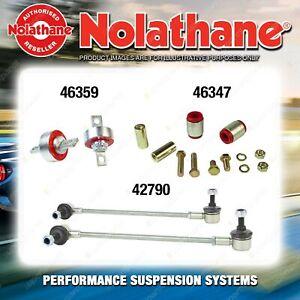 Rear Nolathane Suspension Bush Kit for FIAT FREEMONT JC 4/6CYL 8/2011-ON