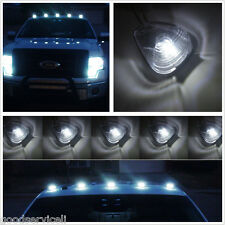 LED Lights 5xSUV Pickup Top Cab Transparent Lamp Shade Running Marker Lamp White