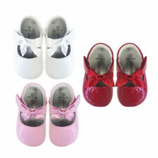 NEW Baby & Toddler Patent Leather First-Walker Soft Grip Soles Shoes Sz0-4 580A
