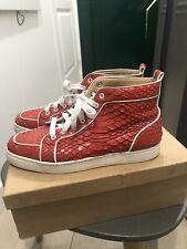 Men sneakers Christian louboutin orlato python Size 42