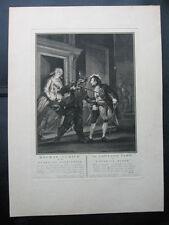 Cuivre Pli par J. Houbraken: JALOUX soldat Joris 1770/Engraving Jealous
